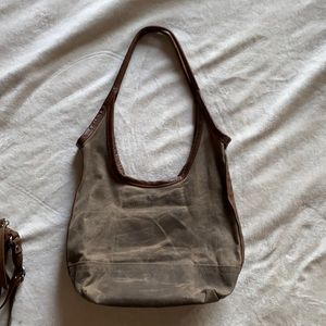 Rough & Tumble Small waxed canvas sling